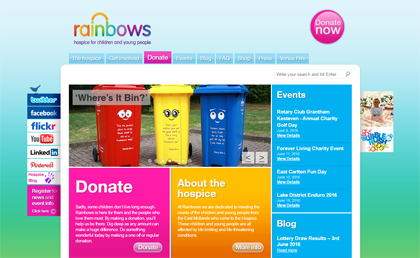 Rainbows Website