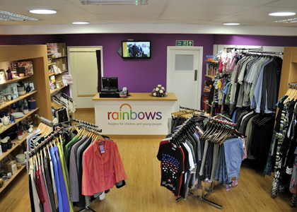 Rainbows Interior Shop Graphics