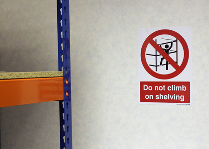 A5 Health & Safety Labels