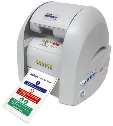 lighthouse uk ltd sign and label printing solutions With label printers uk
