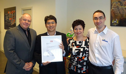 Katrien, Peter, Mr Ohashi & Simon