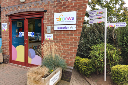 Rainbows Internal and External Signs